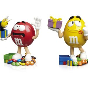 M&M'S195375CHOCO.DISPENS.2X45G